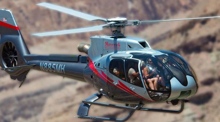 Maverick Helicopter Discovery Combo Tour of Grand Canyon