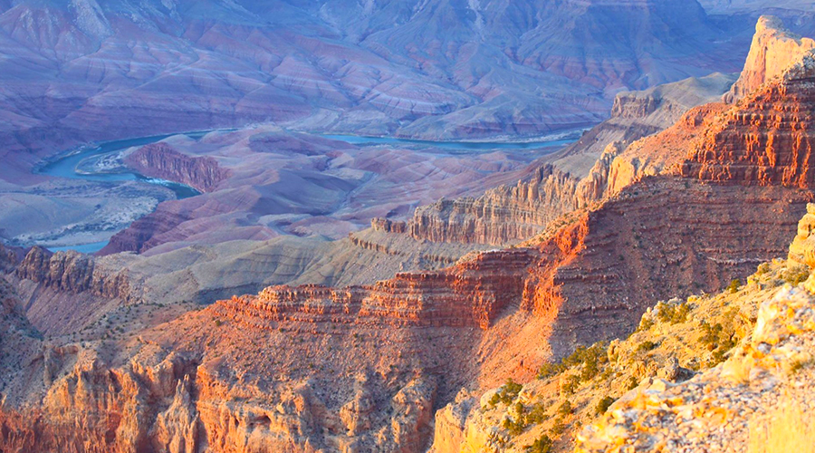 Mountain Views at Grand Canyon West Rim