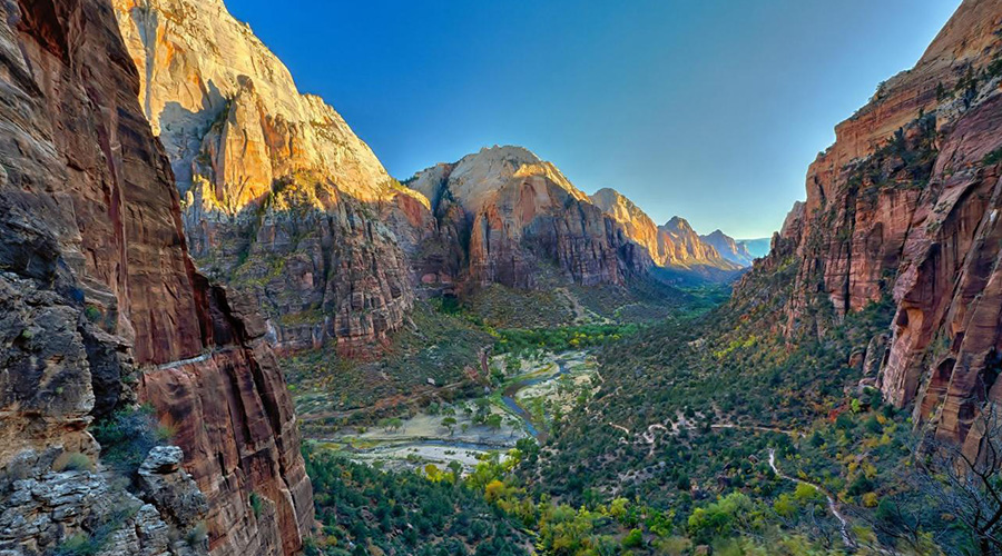 Zion National Park Mountain Views