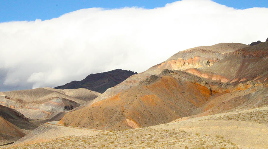 Colorful Artist Pallet Mountain Death Valley