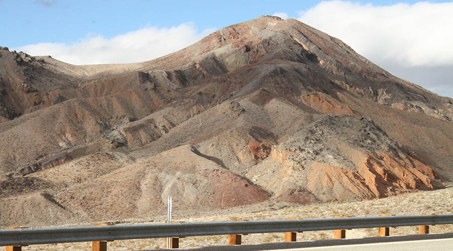Death Valley Mountain