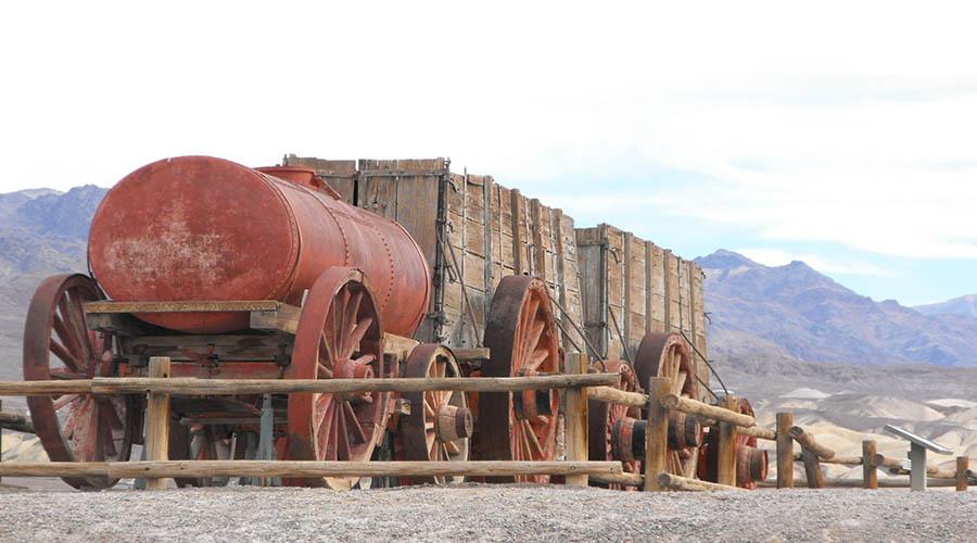 Vintage 20 Mule Team equipment Death Valley