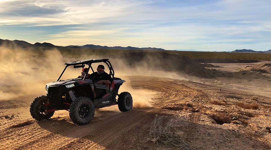 ATV Cutting Cookies at Lake Mead National Park