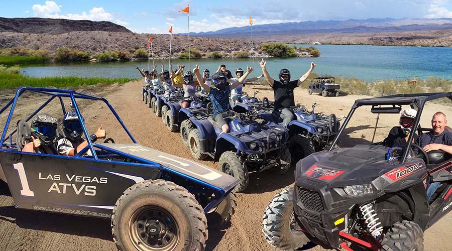 ATV Group at Lake Mead National Park