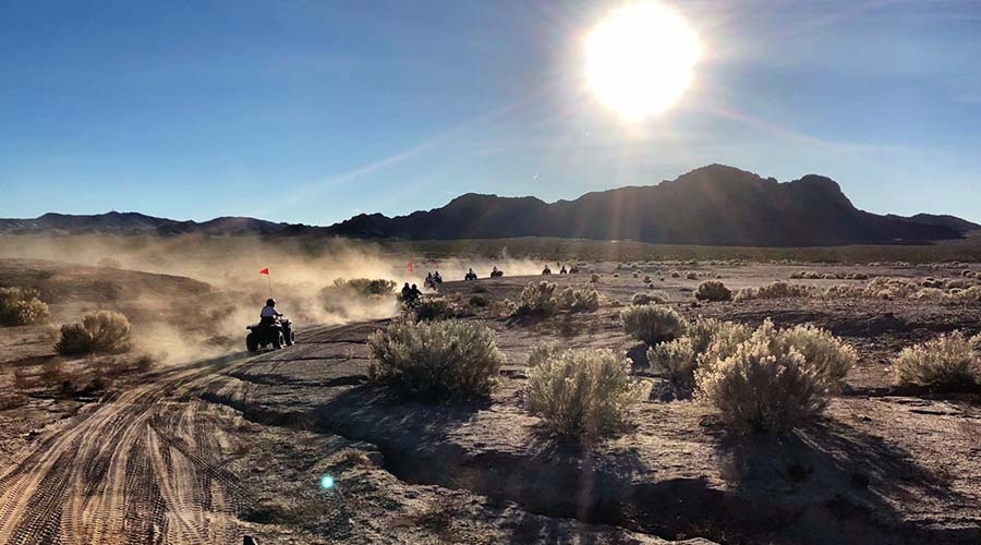 ATV and Trails at Lake Mead National Park