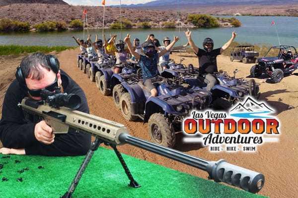 Auto Machine Gun and ATV's