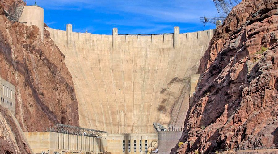 Bottom of Hoover Dam