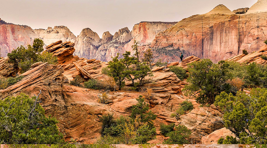 Dramatic Landscape at Zion