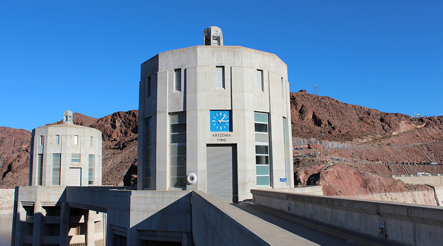 Hoover Dam Clock Tower