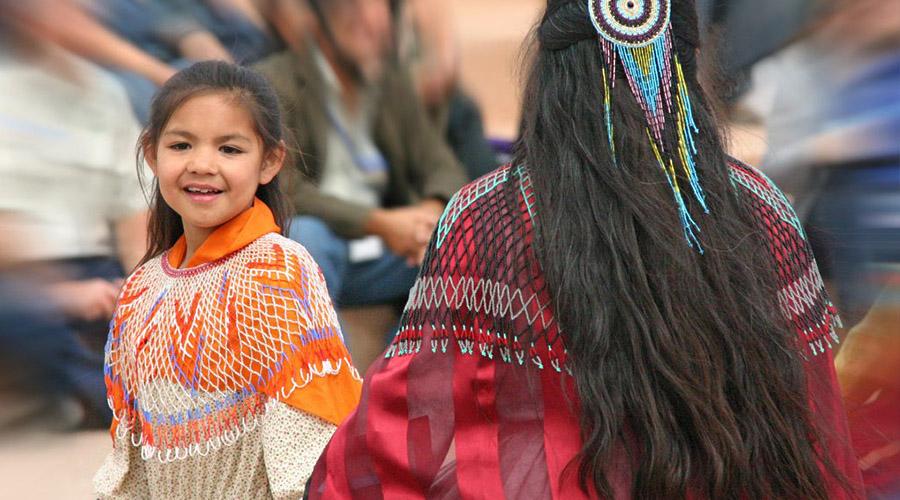 Hualapai Indian Children Playing