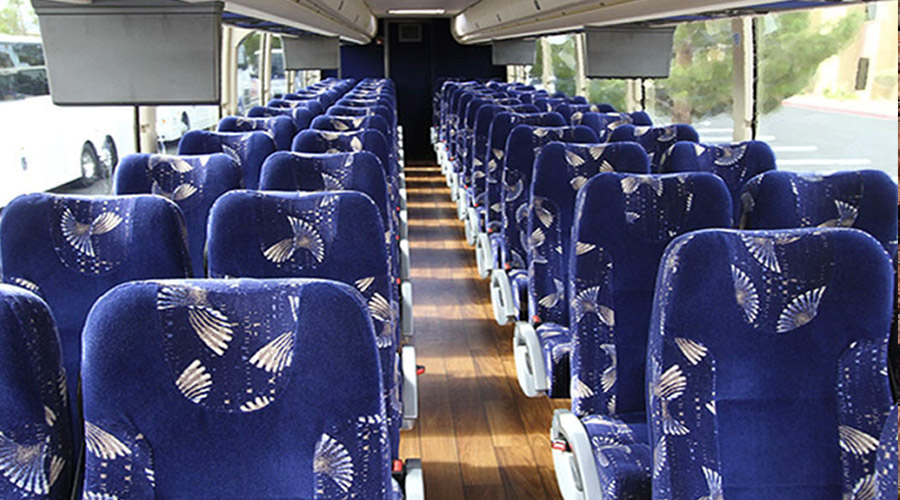 Interior View of Luxury Bus to Grand Canyon