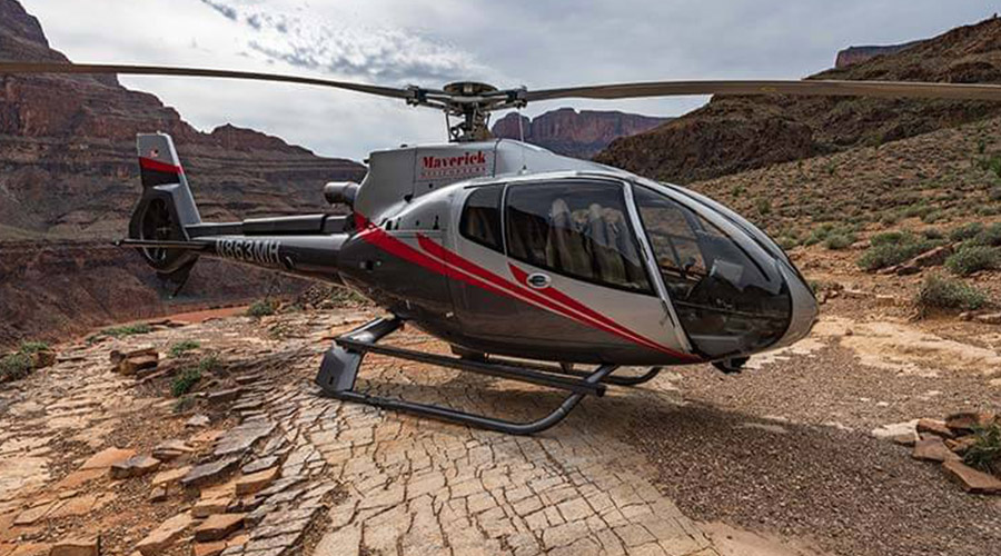 Maverick Helicopter at Grand Canyon