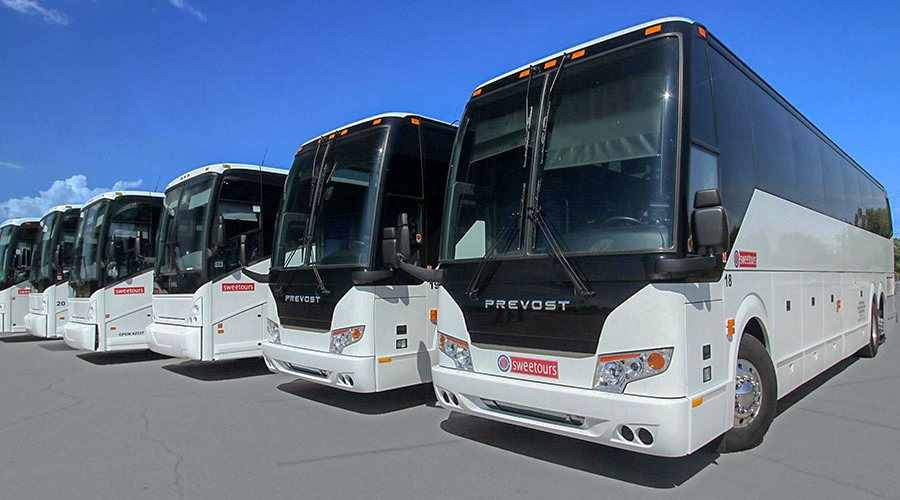 Sweetours Bus Fleet